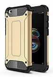 Tough Power Xiaomi Redmi Go Ultra Koruma Gold Kılıf