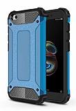 Tough Power Xiaomi Redmi Go Ultra Koruma Mavi Kılıf