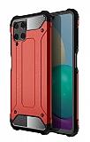 Tough Power Samsung Galaxy A22 4G Ultra Koruma Kırmızı Kılıf