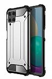 Tough Power Samsung Galaxy A22 4G Ultra Koruma Gri Kılıf