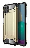 Tough Power Samsung Galaxy A22 4G Ultra Koruma Gold Kılıf