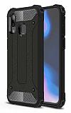 Tough Power Xiaomi Redmi Note 7 / Note 7 Pro Ultra Koruma Siyah Kılıf