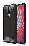 Tough Power Xiaomi Redmi Note 8 Pro Ultra Koruma Siyah Kılıf