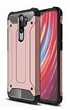 Tough Power Xiaomi Redmi Note 8 Pro Ultra Koruma Rose Gold Kılıf