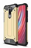 Tough Power Xiaomi Redmi Note 8 Pro Ultra Koruma Gold Kılıf