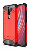 Tough Power Xiaomi Redmi Note 8 Pro Ultra Koruma Kırmızı Kılıf