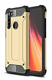 Tough Power Xiaomi Redmi Note 8 Ultra Koruma Gold Kılıf