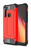 Tough Power Xiaomi Redmi Note 8 Ultra Koruma Kırmızı Kılıf