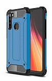 Tough Power Xiaomi Redmi Note 8 Ultra Koruma Mavi Kılıf