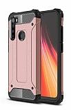 Tough Power Xiaomi Redmi Note 8 Ultra Koruma Rose Gold Kılıf