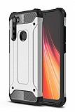 Tough Power Xiaomi Redmi Note 8 Ultra Koruma Silver Kılıf