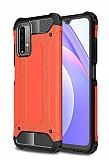 Tough Power Xiaomi Redmi Note 9 4G Ultra Koruma Kırmızı Kılıf