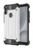Tough Power Xiaomi Redmi S2 Ultra Koruma Silver Kılıf