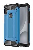 Tough Power Xiaomi Redmi S2 Ultra Koruma Mavi Kılıf