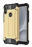 Tough Power Xiaomi Redmi S2 Ultra Koruma Gold Kılıf