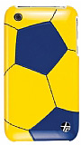 Trexta Snap On Soccer iPhone 3G/ GS Mavi K�l�f