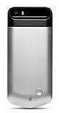 TTEC Caffeine Go iPhone SE / 5 / 5S Bataryal� Silver K�l�f