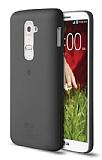 TTEC LG G2 Ultra İnce Dark Silver Rubber Kılıf