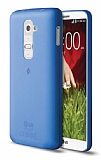 TTEC LG G2 Ultra �nce Mavi Rubber K�l�f