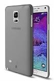 TTEC Samsung Galaxy Note 4 Ultra �nce Dark Silver Rubber K�l�f