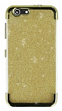 Turkcell T70 Simli Gold Silikon Kılıf
