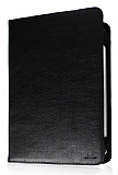 DC Universal 10.1 in� Standl� Tablet Siyah Deri K�l�f