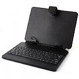 Universal 7 inç Klavyeli Tablet Siyah Kılıf