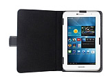Universal 7 inç Tablet Siyah Deri Kılıf