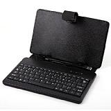 Universal 8 inç Klavyeli Tablet Siyah Kılıf