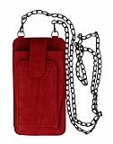 Universal Askılı Fonksiyonel Kırmızı Telefon Çantası
