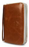 Universal L Kulplu C�zdan Kahverengi Deri K�l�f