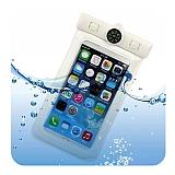 Universal Su Ge�irmez Beyaz Cep Telefonu K�l�f�