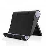 Universal Siyah Ayarlanabilir Telefon ve Tablet Standı