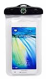 Universal Su Geçirmez Beyaz Cep Telefonu Kılıfı