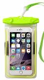 Universal Su Geçirmez Yeşil Cep Telefonu Kılıfı