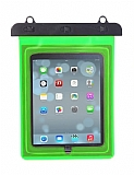 Universal Yeşil Su Geçirmez Tablet Kılıfı