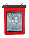 Universal Kırmızı Su Geçirmez Tablet Kılıfı