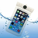 Universal XL Su Ge�irmez Beyaz Cep Telefonu K�l�f�