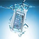 Universal XL Su Ge�irmez Beyaz Cep Telefonu Beyaz K�l�f�