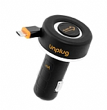 unplug Makaralı Micro USB Data Kablolu Araç Şarjı