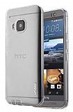 Usams Primary HTC One M9 Şeffaf Silikon Kılıf