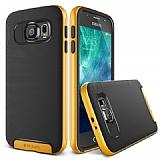 Verus Crucial Bumper Samsung i9800 Galaxy S6 Special Yellow Kılıf