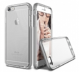 Verus Crystal Bumper iPhone 6 / 6S Light Silver Kılıf