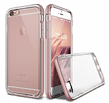 Verus Crystal Bumper iPhone 6 / 6S Rose Gold Kılıf