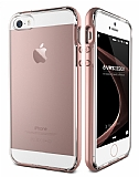 Verus Crystal Bumper iPhone SE / 5 / 5S Rose Gold Kılıf