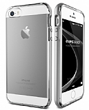Verus Crystal Bumper iPhone SE / 5 / 5S Light Silver Kılıf