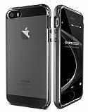 Verus Crystal Bumper iPhone SE / 5 / 5S Steel Silver Kılıf