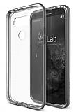 Verus Crystal Bumper LG G5 Steel Silver Kılıf
