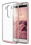 Verus Crystal Bumper LG V10 Rose Gold Kılıf