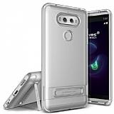 Verus Crystal Bumper LG V20 Light Silver Kılıf